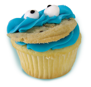 cupcake-cookiemonster